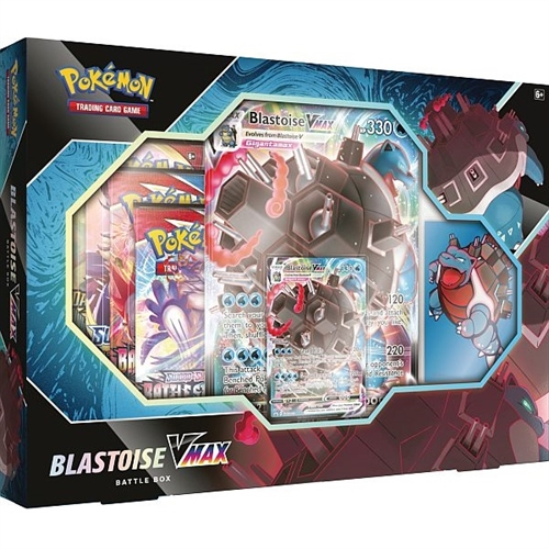 Pokemon Blastoise VMAX Battle Box - Pokemon kort